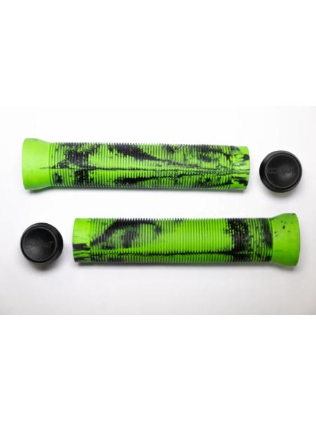 Грипсы для самокатов KICKMEAT Double Color Grips length: 143mm, diameter: 22.2 - green