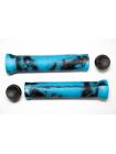 Грипсы для самокатов KICKMEAT Double Color Grips length: 143mm, diameter: 22.2 - blue