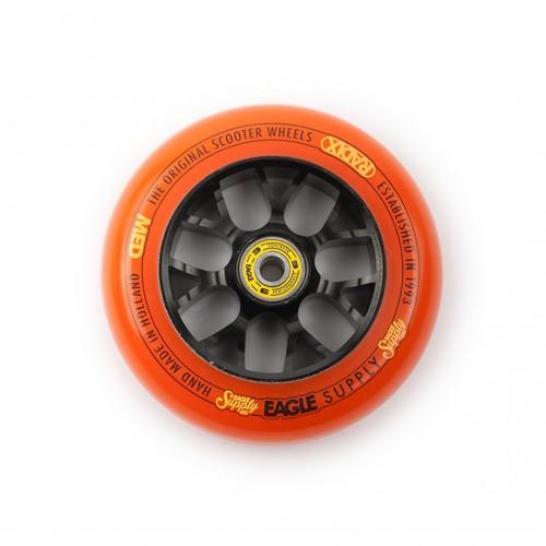 Колесо для самоката EAGLE Supply Wheel Radix Chunky X6 115 mm. - Black/Orange