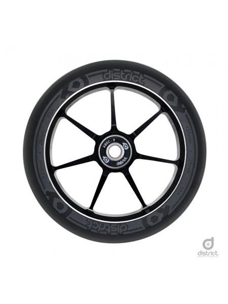 Колесо для самоката DISTRICT 120x28mm Dual Width Core - Black/Grey