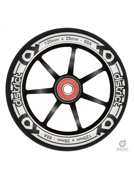 Колесо для самоката DISTRICT Wheel - LP Wide Wheel - 120mm.