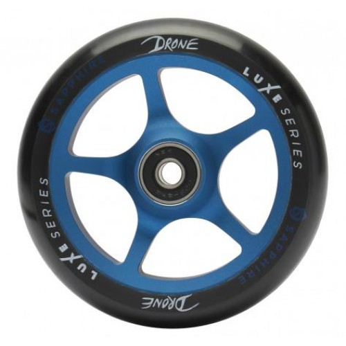 Колесо для самоката DRONE Luxe Series Wheels - Blue (sapphire) - 110 mm.