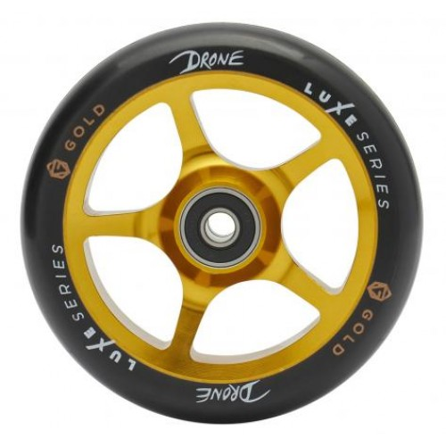 Колесо для самоката DRONE Luxe Series Wheels - Gold (gold) - 110 mm.