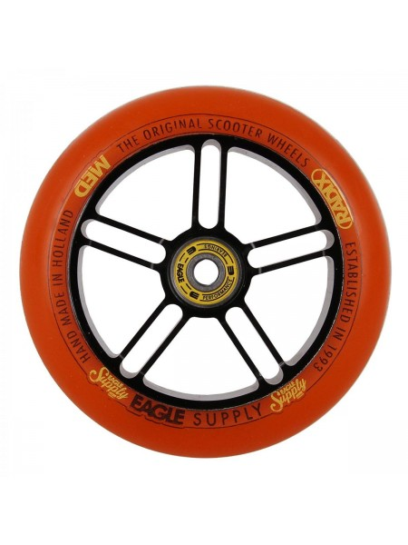 Колесо для самоката EAGLE Supply Radix 5D Black/Orange 115 mm. х 30 mm.