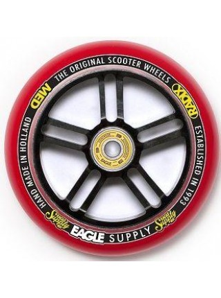 Колесо для самоката EAGLE Supply Radix 5D Black/Red 115 mm. х 30 mm.