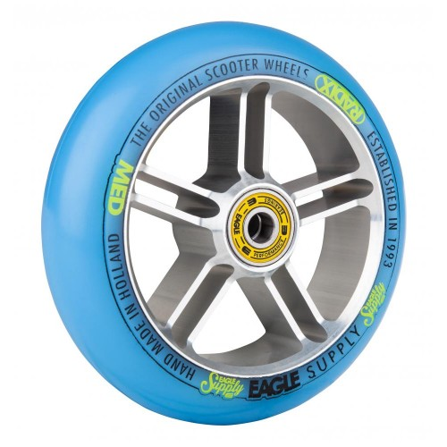Колесо для самоката EAGLE Supply Radix 5D Silver/Blue 115 mm. х 30 mm.
