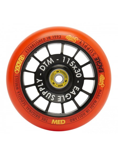 Колесо для самоката EAGLE Supply Radix DTM Orange 115 mm. х 30 mm.