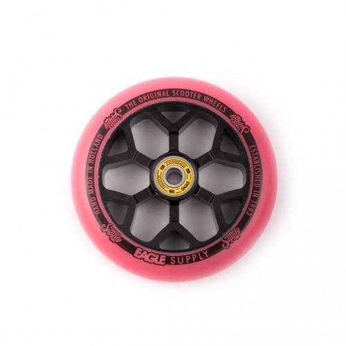 Колесо для самоката EAGLE Supply Standard Line 6M black/pink 110 mm. х 24 mm.