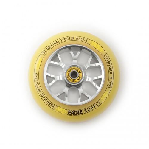 Колесо для самоката EAGLE Supply Wheel Radix Chunky X6 115 mm. - Silver/Yellow