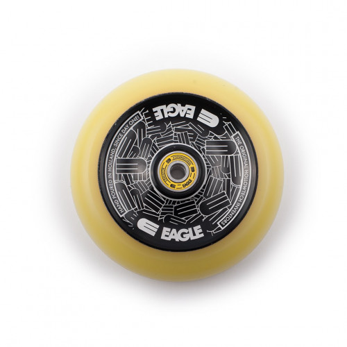 Колесо для самоката EAGLE Supply Wheel Radix Eagle Full Hollowtech Medium 115 mm. - Black/Yellow