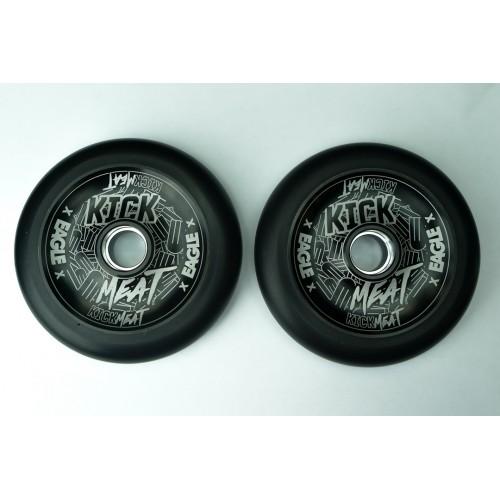 Колесо для самоката EAGLE Supply x Kickmeat Wheel Standart Line HollowTech 115 mm. - black