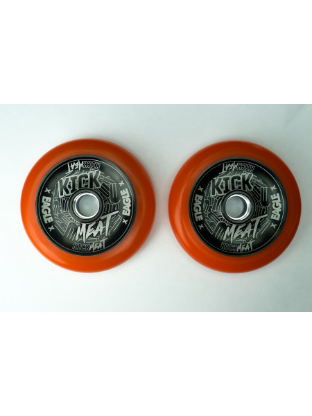 Колесо для самоката EAGLE Supply x Kickmeat Wheel Standart Line HollowTech 115 mm. - Orange