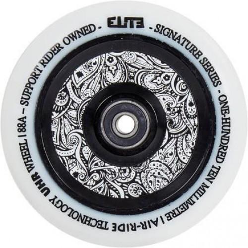 Колесо для самоката ELITE Air Ride Wheels 125 mm. White/Floral
