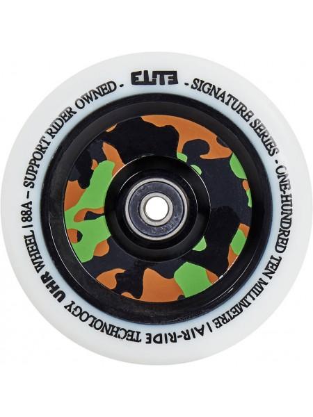 Колесо для самоката ELITE Air Ride Wheels 125 mm. White/Camo