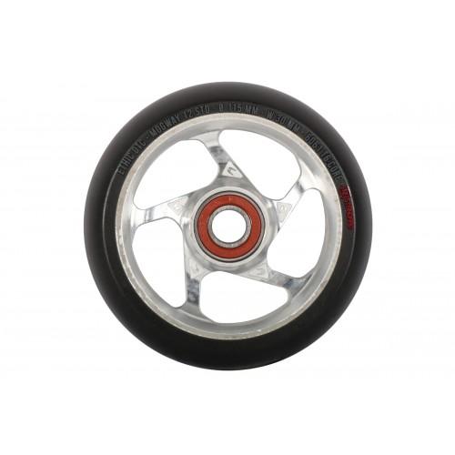 Колесо для самоката ETHIC Mogway Wheel 115 mm. 12 Std - black/raw