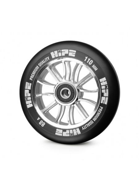 Колесо для самоката HIPE 01 hollow 110mm серебро