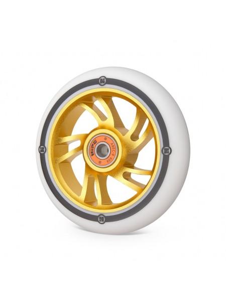 Колесо для самоката HIPE 5W 110мм золотой/белый