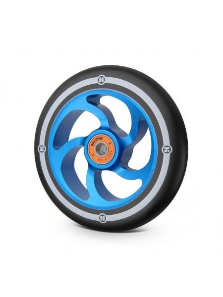 Колесо для самоката HIPE 5F 120мм темно-синий/черный