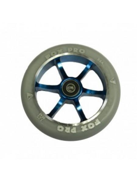 Колесо  6ST 125мм серый/синий