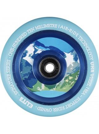 Колесо для самоката ELITE Air Ride Wheel 110 mm. - Blue/Aqua