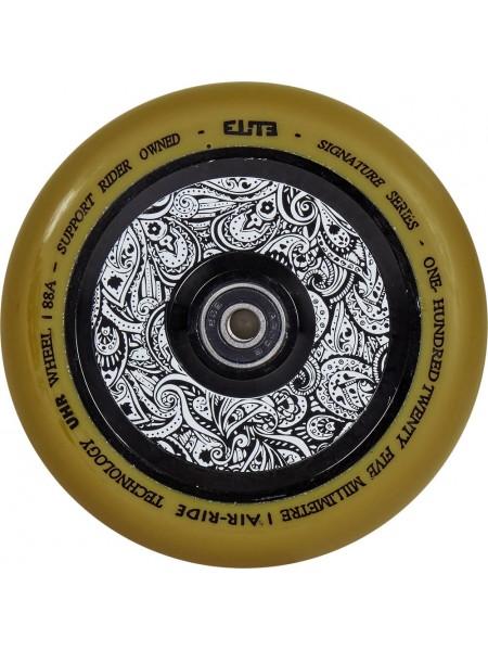 Колесо для самоката ELITE Air Ride Wheels 125 mm. Gum/Floral