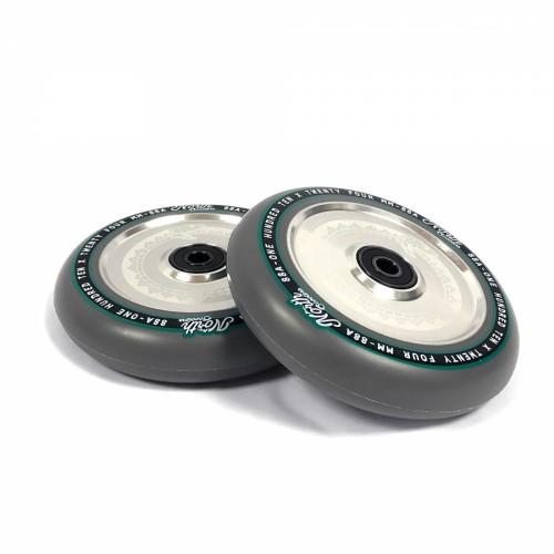 Колесо для трюкового самоката NORTH SCOOTERS Wheels/Set Vacant - 110 х 24 mm. 88A - Grey/Silver