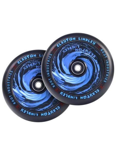 Колесо для самоката ROOT INDUSTRIES Air Wheels 120 mm. - Spill / Clayton Lindley