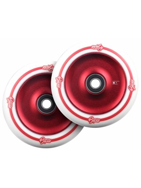 Колеса для самоката URBANARTT Disk Wheels 125 mm. - white / red - 2шт.