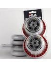 Набор колес для роликовых коньков  84 mm /83 A+подшипник ABEC 7 +AS