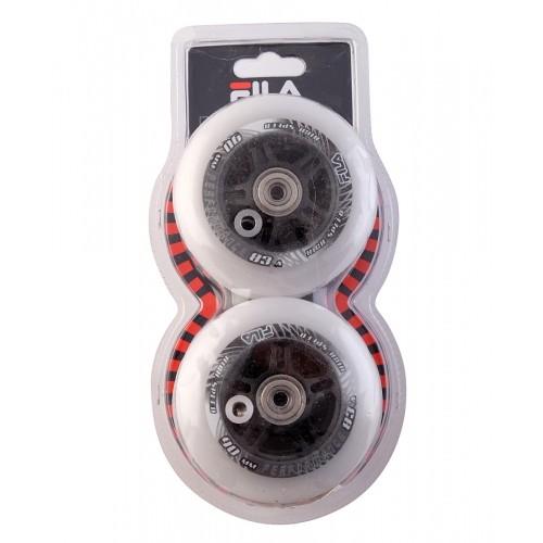 Набор колес для роликовых колес  90 mm. / 83 A+подшипник ABEC 7 +AS
