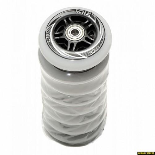 Колеса для роликовых коньков FILA wheels 84 mm. / 83 A+ABEC7+Alu spacer 8 mm.