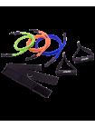 Комплект съемных эспандеров ES-606, с ручками, расширенный