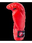 Набор для бокса, 6oz, к/з, черный/красный