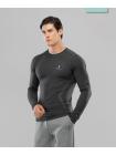 Мужская футболка с длинным рукавом Smartknit FA-ML-0103-GRY, серый