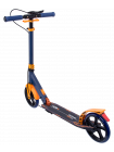 Самокат 2-колесный Rank 200 мм, ручной тормоз, черный/оранжевый