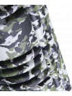 Ролик массажный FA-508, 33x14 cм, зеленый камуфляж/оранжевый