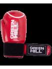 Перчатки боксерские Panther BGP-2098, 10 oz, красный