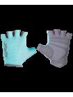 Перчатки для фитнеса SU-127, мятный/серый