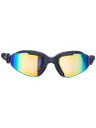Очки для плавания Prisma Mirrored Black, подростковые