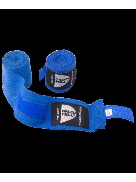 Бинт боксерский BP-6232a, 2,5м, эластик, синий