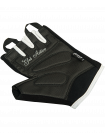 Перчатки для фитнеса SU-111, черные/белые/розовые