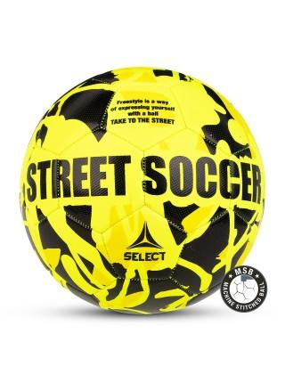 Мяч футбольный STREET SOCCER, размер 4,5, жел/черн (для асфальта)
