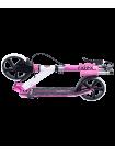 Самокат 2-колесный Sigma 200 мм, ручной тормоз, белый/розовый