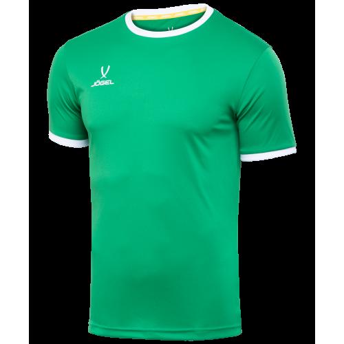 Футболка футбольная CAMP Origin JFT-1020-031-K, зеленый/белый, детская