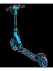 Самокат 2-колесный Stratus 230/200 мм, ручной тормоз, синий