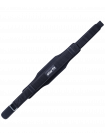Пояс для фитнеса SU-310, универсальный, текстиль, черный