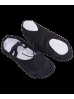 Балетки SL-01, текстиль, черный, р. 32-37
