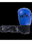 Перчатки боксерские Spider Blue, к/з, 6 oz