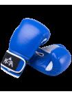 Перчатки боксерские Wolf Blue, кожа, 8 oz