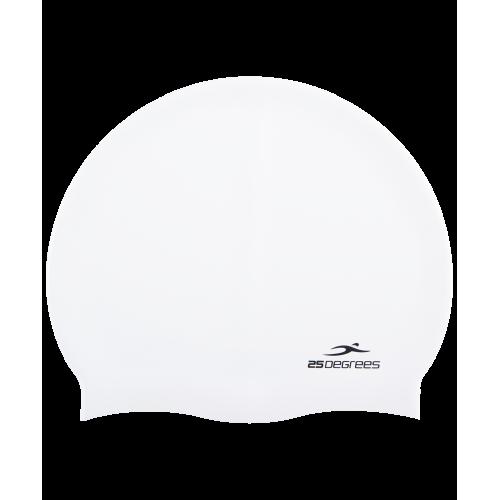 Шапочка для плавания Nuance White, силикон